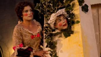 Theatergruppe Badener Maske führt Molières Komödie «Sganarell» unter freiem Himmel auf