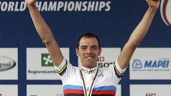 Ballans grösster Erfolg: Strassen-Weltmeister 2008 in Varese