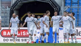 Aufsteiger Vaduz gab im St.-Jakob-Park bei der Rückkehr in die Super League einen guten ersten Eindruck ab