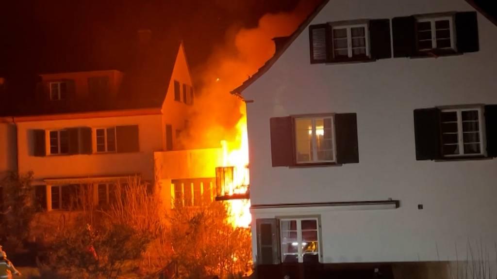 Ein Todesopfer bei Brand in Winterthur