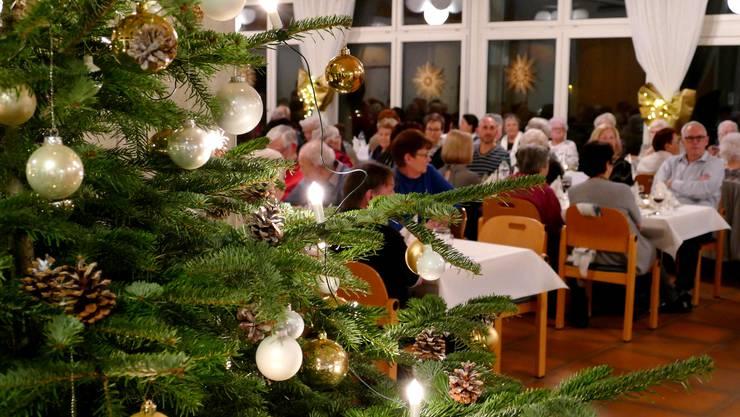Weihnachtsfeier im Solino - Wohnen im Alter