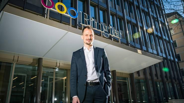 Startet am Montag mit Blick-TV: Chefredaktor Jonas Projer.