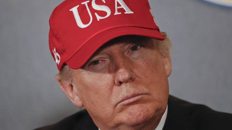 Hat er gegen die Verfassung verstossen? Präsident Donald Trump.