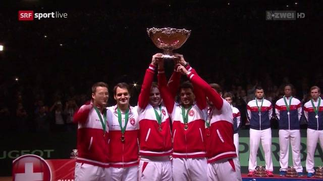 Schweiz gewinnt den Davis Cup