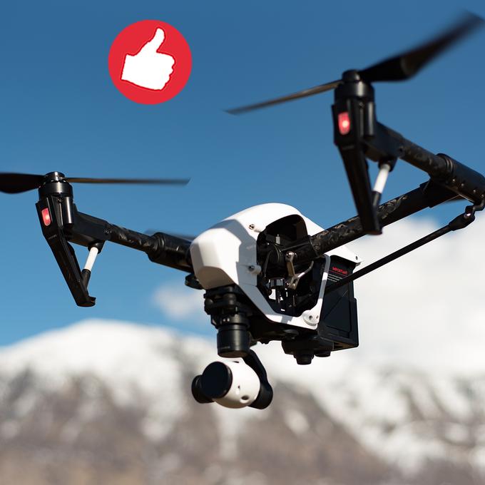 Drohnen könnten künftig Gebäude reparieren