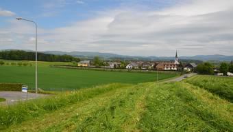 Die beiden Gebiete Langweid Nord und Süd in Sins sollen für Wohnbauten genutzt werden. ES