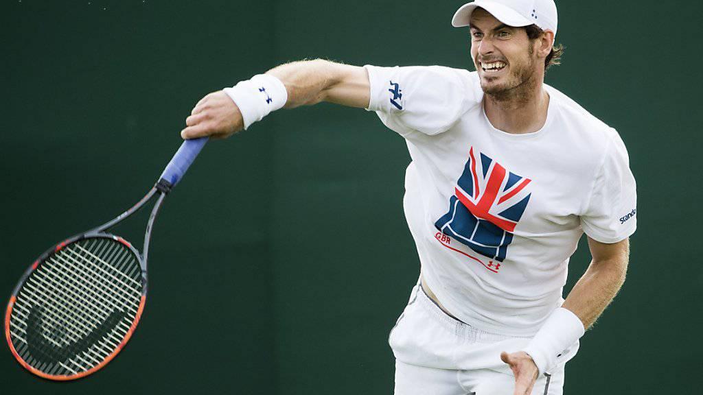 Andy Murray muss sich mit seiner Rückkehr weiter gedulden