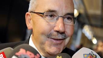 BDP-Präsident Hans Grunder ist zufrieden mit dem Abschneiden seiner Partei