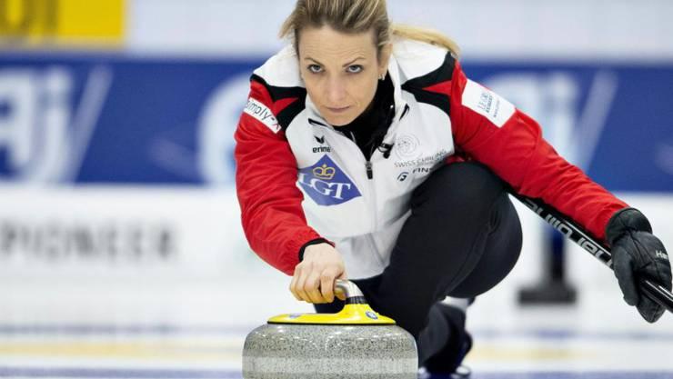 Skip Silvana Tirinzoni hat an der EM bislang alles im Griff