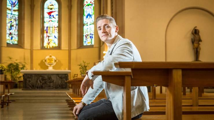 Mario Stöckli macht in der Wettinger Pfarrei St. Sebastian eine Ausbildung zum Pastoralassistenten.