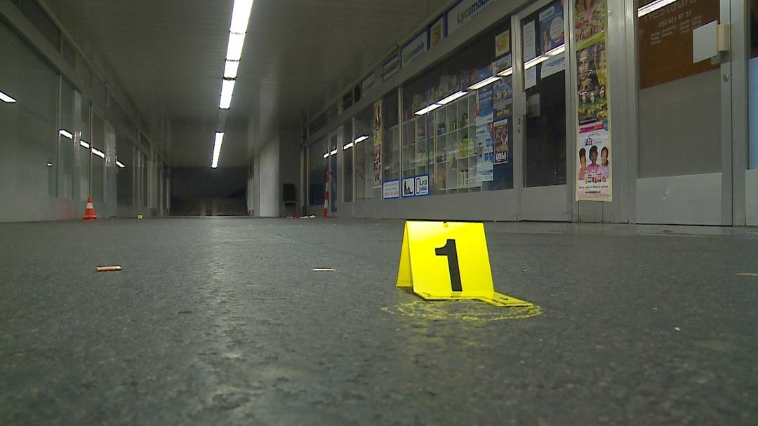 Schusswechsel am Bahnhof Solothurn