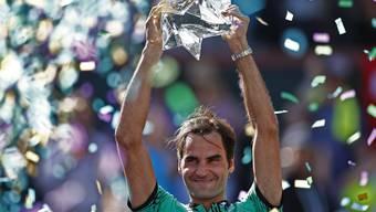 Das sind alle Turniersiege von Roger Federer