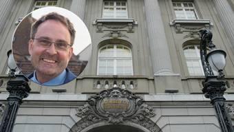 Der Aargauer Unternehmer Michael Derrer hat unter anderem gegen die Nationalbank eine Abstimmungsbeschwerde eingereicht.