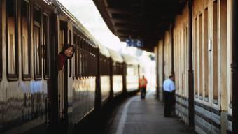 Ein Zug in Chiasso: Ein Streik in Italien behindert den Zugverkehr zwischen der Schweiz und Italien (Symbolbild)