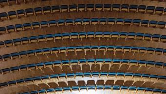 Im KKL-Konzertsaal gibt's bis zum 15. März nur ein Konzert.