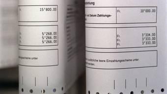 Besonders bei niederigen Einkommen werden Steuerrechnungs-Mahnungen verschickt.
