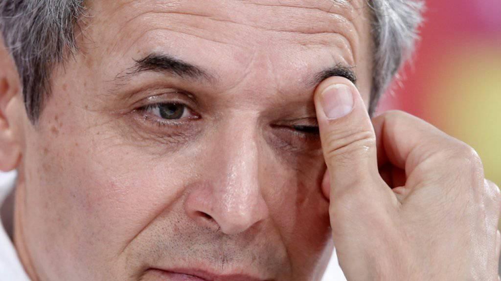 Ein nachdenklicher Marce Koller: Aber er sitzt als Coach der Austria-Nati fest im Sattel