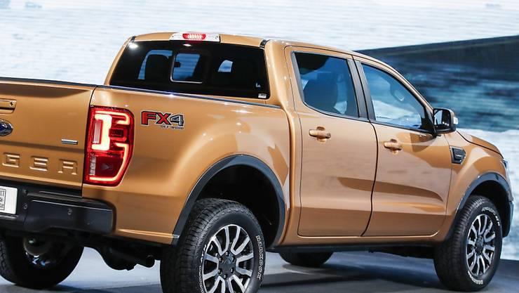 Der zweitgrösste US-Autobauer Ford will künftig auch Pick-up-Trucks als Hybrid-Version auf den Markt bringen. (Symbolbild)