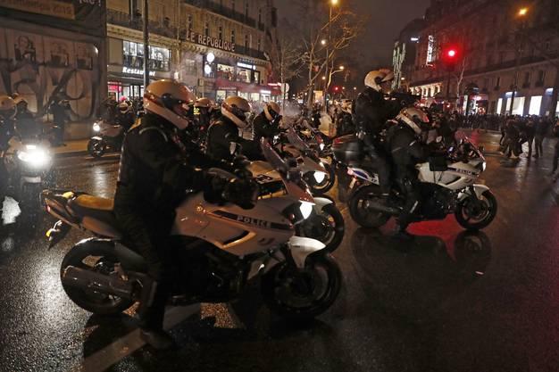 """In ganz Frankreich haben am Samstag erneut rund 69'000 """"Gelbwesten"""" gegen die Politik von Präsident Emmanuel Macron demonstriert."""