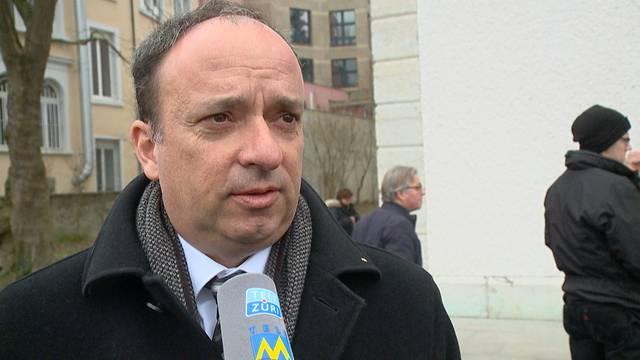 Markus Dieth an der Trauerfeier für die Lawinenopfer in Baden: «Das ging sehr unter die Haut»