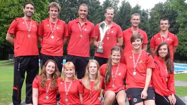 Die Medaillengewinner der Rettungsschwimmsektion Baden-Brugg. Foto: ZVG