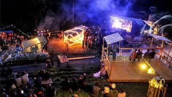 Rund 1800 Menschen strömen jährlich in die Gipsgrube. Sie schätzen das Festival für die breite Musikauswahl und den Kindernachmittag. (Archivbild)
