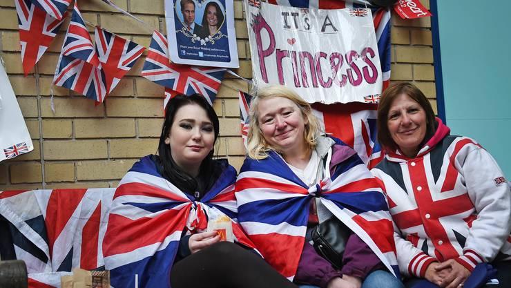 Grossbritannien wartet auf das Royal-Baby