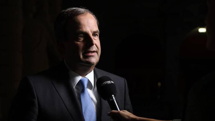 CVP-Präsident Gerhard Pfister ist «durchaus zufrieden» mit den Resultaten, welche die CVP in den Wahlen 2019 erzielte.
