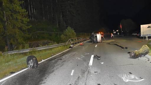 Ohne Führerschein Unfall gebaut