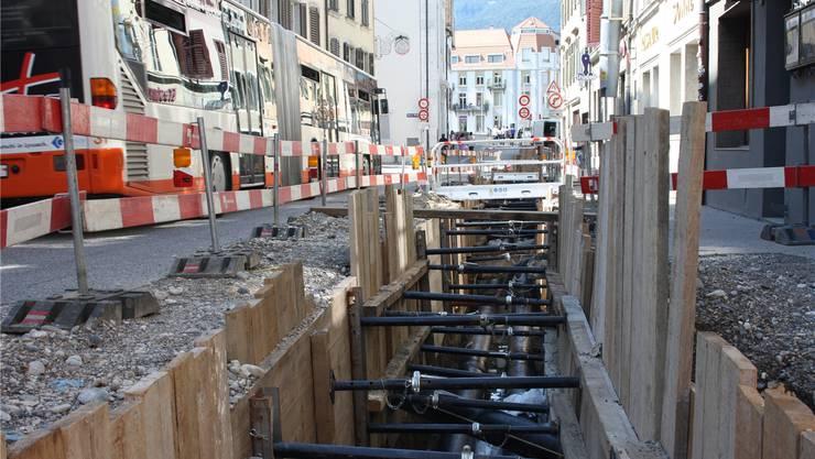 Die Stadt ihre Erschliessungsplanung neu aufgegleist. (Archiv)