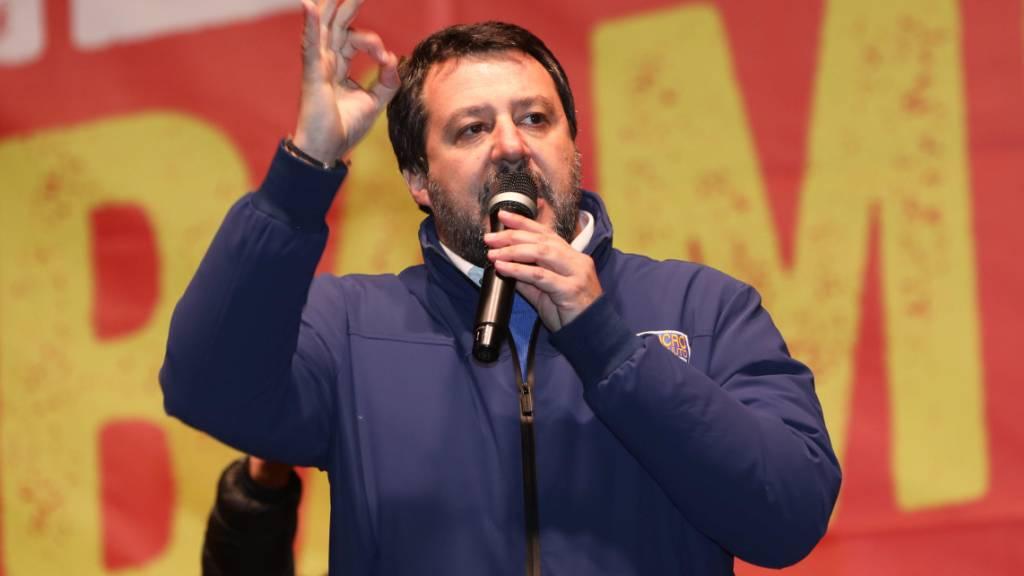 Salvini erlebt bei Regionalwahl in Italien Niederlage