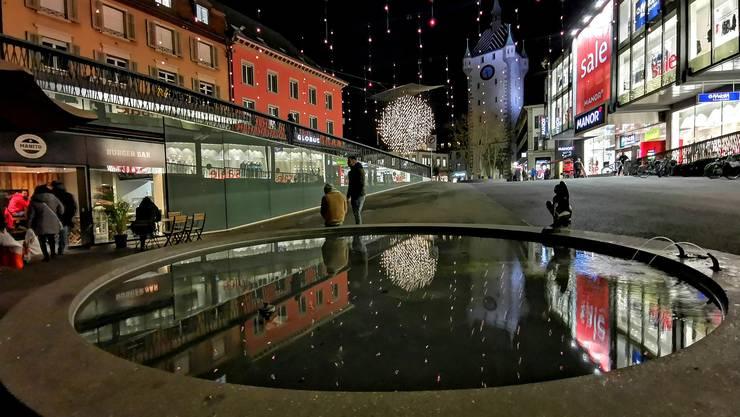 Die letzten Weihnachtsgrüsse aus Baden.