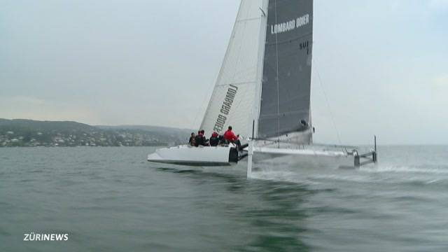Segel-Rekord über den Zürichsee