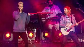 Nicht nur bei Rap- und Hip-Hop-Bands: Gewaltbeladene Songs finden sich laut Forschern auch verbreitet bei Popgruppen wie der US-Band Maroon 5.