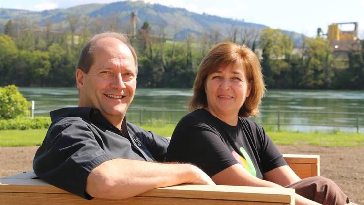 Willi und Anna Kaufmann haben während rund zehn Jahren das «Fabriggli»-Bistro am Wallbacher Rheinufer geführt.