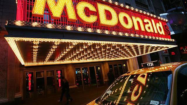 Hier bleibt der Fast-Food-Gigant bestehen: Filiale in New York (Archiv)