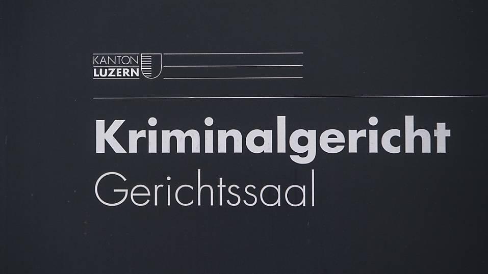 Das Luzerner Kriminalgericht hat einen Messerstecher für schuldunfähig erklärt. (Archivaufnahme)