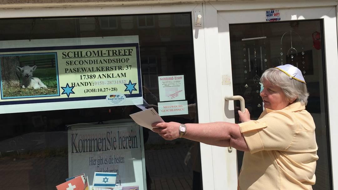 «Reden nützt nichts»: Yehudit Bachmann über ihren Nachbarn und ihren Shop