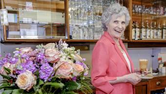 Die letzten Jahre vor dem Ruhestand hat die 85-jährige Erna Hammel nicht mehr gekocht in der «Eintracht». Getränke serviert hat sie aber weiterhin – alleine.
