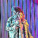 Davide Giusti und Cristina Pasaroiu  singen das zentrale Liebespaar. (zvg / Priska Ketterer)