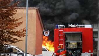 Brand im Zentrum der Stiftung Arkadis 2006