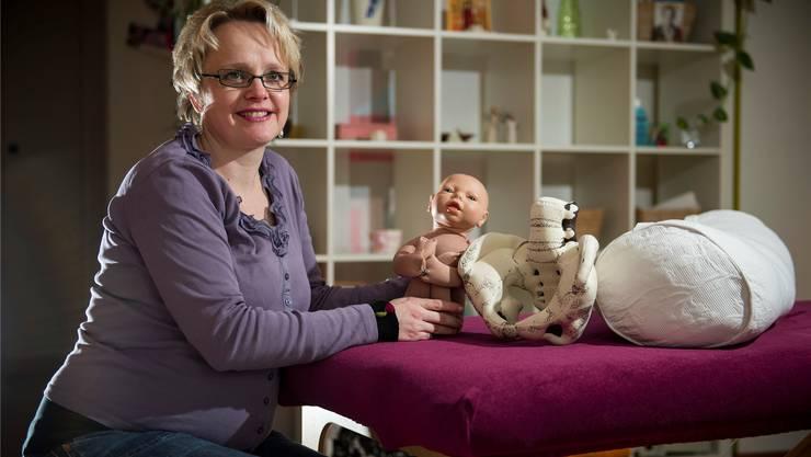 Tanja Fögele hat 120 Geburten ausserhalb des Spitals begleitet.