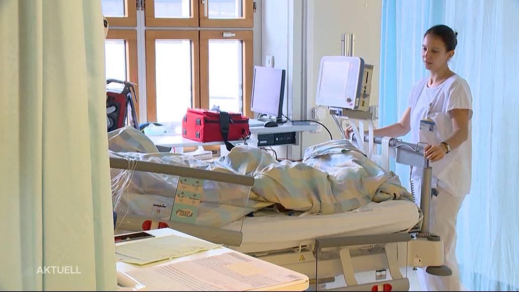 Aargauer Spitäler verdoppeln Betten auf Intensivstationen