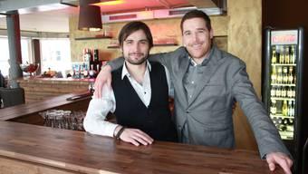 Andreas Ryffel (l.) und Andreas Meyer sind die Geschäftsführer im umgebauten Lokal am Rossmarktplatz
