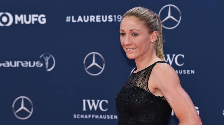 Daniela Ryf an den Laureus Sports Awards 2019.