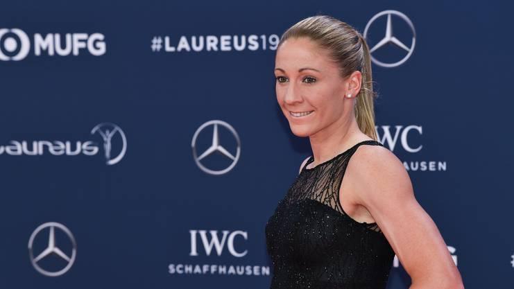 Daniela Ryf an den Laureus Sports Awards 2019.