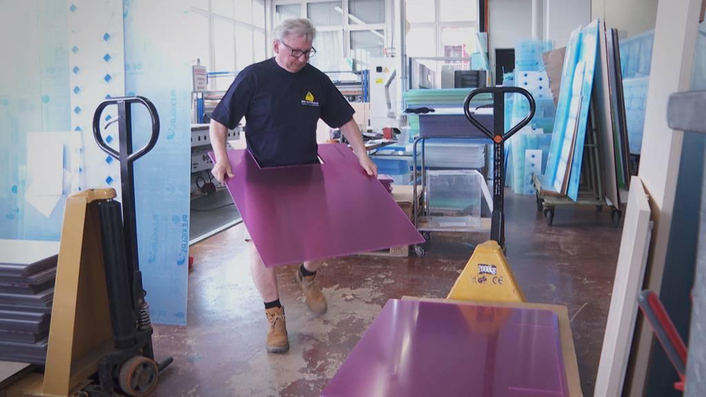 «Richtiger Ansturm» – St.Galler Trennwand-Hersteller hat stressige Wochen hinter sich