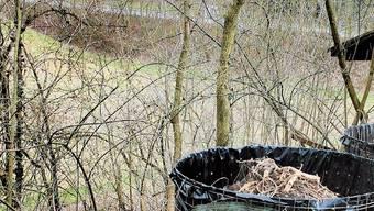 Rund 150 Meter von der Strafanstalt Schöngrün und vom UG entfernt hat sich ein Häftling im Kompost-Korb eines Privatgartens versteckt.