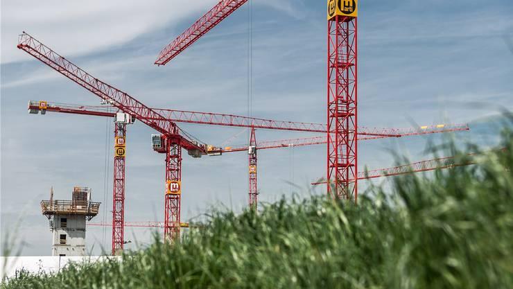 Wann darf noch auf der grünen Wiese gebaut werden? Symbolbild