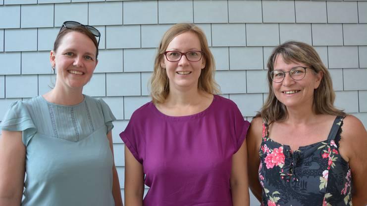 Das «Meeting Point»-Team: Barbara Capaul, Odette Bolliger und Renate Gorza (v.l.).